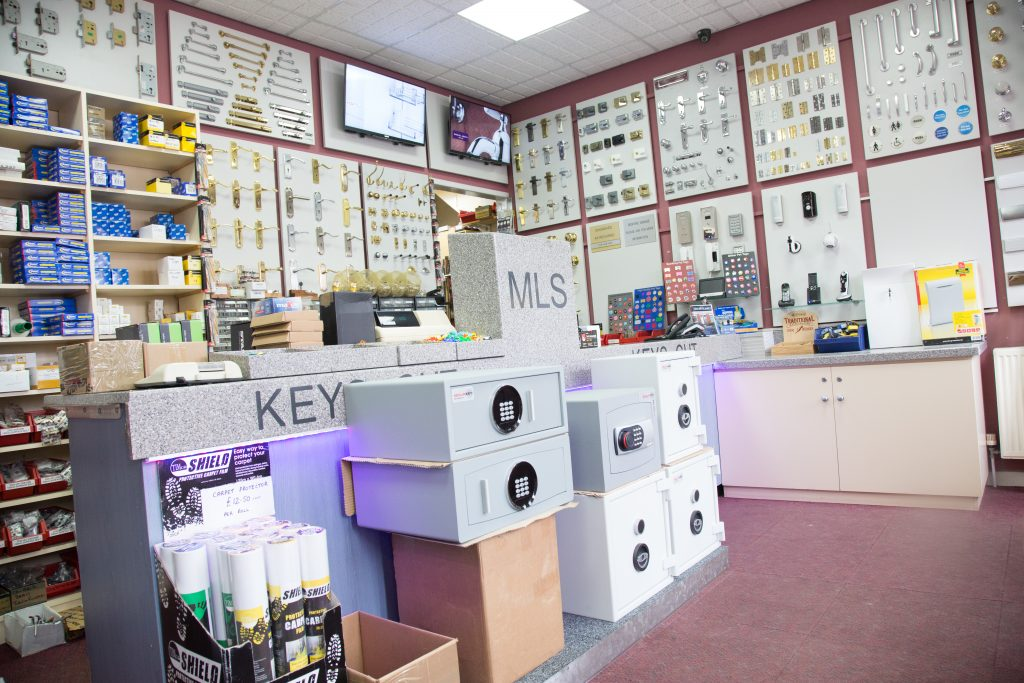 Master Lock and Safe Ltd., locksmiths Southport. The shop at 23 Southbank Road, Southport