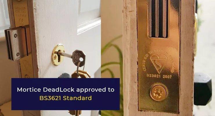 BS3621 Mortice Lock
